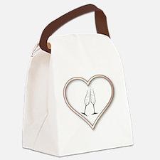 Cute Wedding congratulations Canvas Lunch Bag