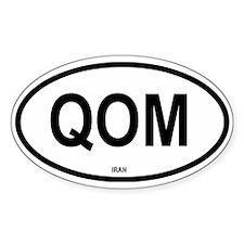 Qom Oval Decal