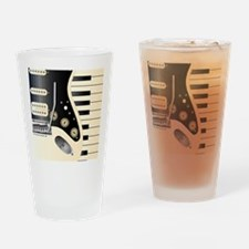 Unique Electric guitar Drinking Glass