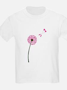 Dandelion Heart Seed Lovers T-Shirt