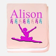 PERSONALIZED DANCE baby blanket