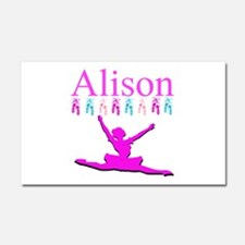 PERSONALIZED DANCE Car Magnet 20 x 12