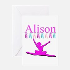 PERSONALIZED DANCE Greeting Card