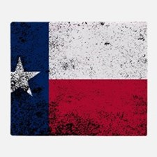Cool Graphic texas flag Throw Blanket