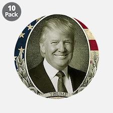 "Flag Portrait.jpg 3.5"" Button (10 pack)"