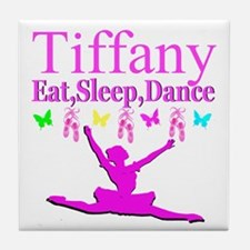 PERSONALIZED DANCE Tile Coaster