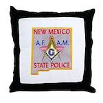 New Mexico SP Masons Throw Pillow