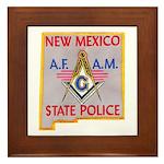 New Mexico SP Masons Framed Tile