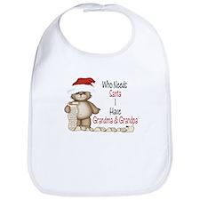 Who Needs Santa? Bib