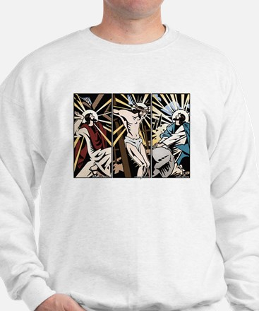 Comic Strip Christ Sweatshirt