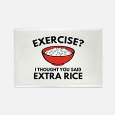 Exercise ? Extra Rice Rectangle Magnet