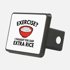 Exercise ? Extra Rice Hitch Cover