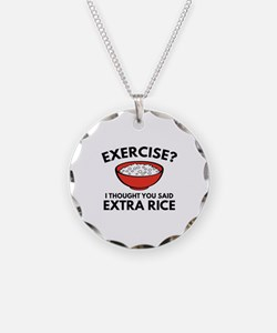 Exercise ? Extra Rice Necklace