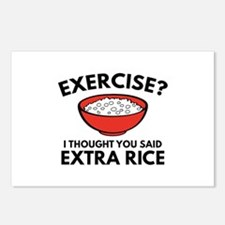 Exercise ? Extra Rice Postcards (Package of 8)
