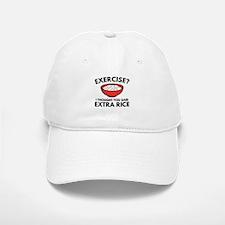 Exercise ? Extra Rice Baseball Baseball Cap