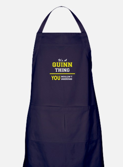 QUINN thing, you wouldn't understand Apron (dark)
