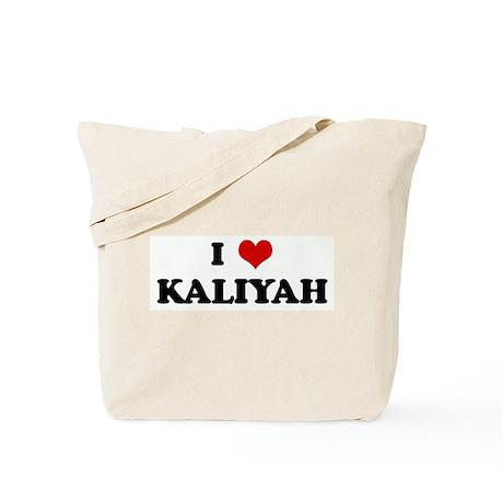 I Love KALIYAH Tote Bag