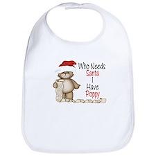 Who Needs Santa? Poppy Bib