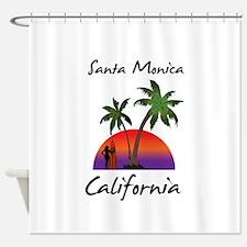 Santa Monica Shower Curtain