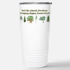 Cute Hippie Thermos Mug