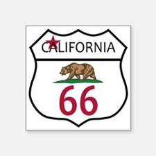 Route 66 California Sticker