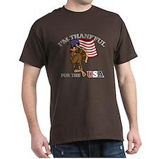 Thankful For USA T-Shirt