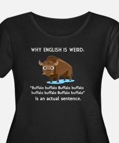 English Is Weird Women's Plus Size T-Shirt