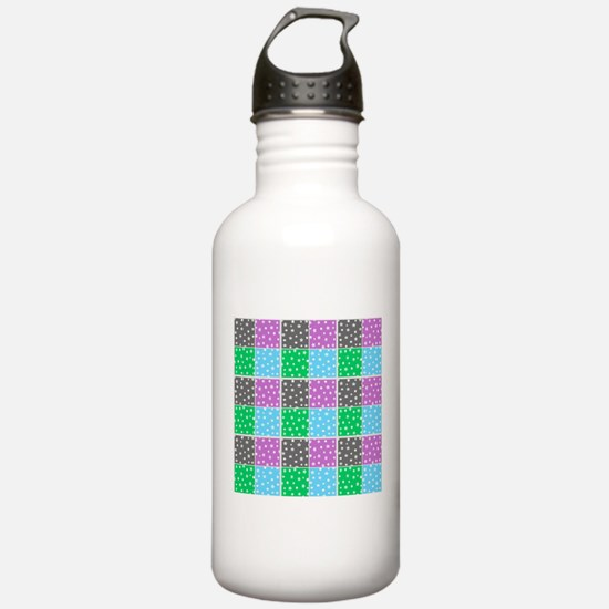 Colorful stars pattern Water Bottle