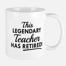 Legendary Retired Teacher Mug
