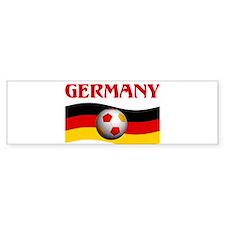 TEAM GERMANY WORLD CUP Bumper Bumper Sticker