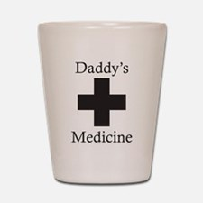 Daddy's Medicine Shot Glass