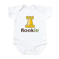 Rook Rookie Chess Piece Onesie
