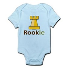 Rook Rookie Chess Piece Infant Bodysuit