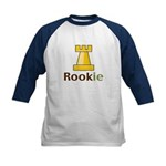 Rook Rookie Chess Piece Kids Baseball Jersey