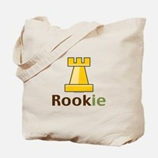 Rook Rookie Chess Piece Tote Bag