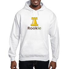 Rook Rookie Chess Piece Hoodie