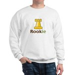 Rook Rookie Chess Piece Sweatshirt