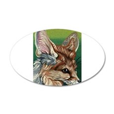 Fennec Fox Decal Wall Sticker