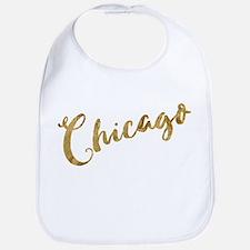 Golden Look Chicago Bib