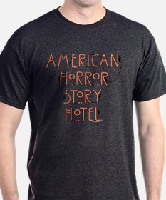 American Horror Story Hotel Neon Sign T-Shirt