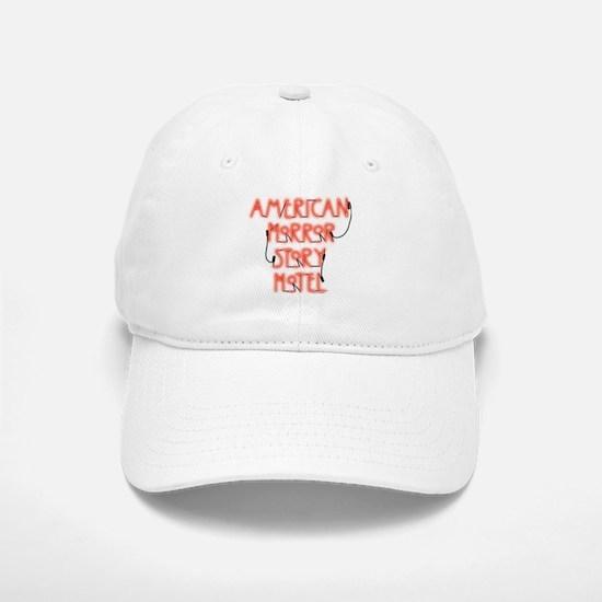American Horror Story Hotel Neon Sign Baseball Baseball Cap