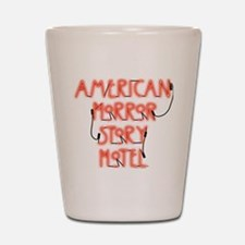 American Horror Story Hotel Neon Sign Shot Glass