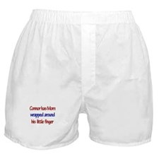 Connor - Mom Wrapped Around Boxer Shorts