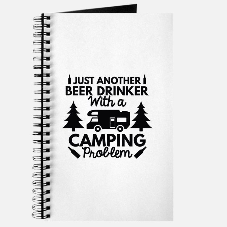 Beer Drinker Camping Journal