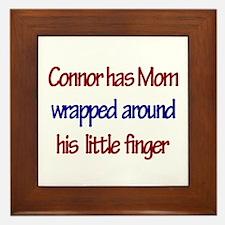 Connor - Mom Wrapped Around Framed Tile