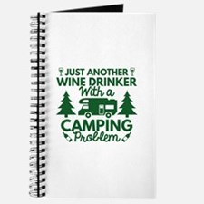 Wine Drinker Camping Journal