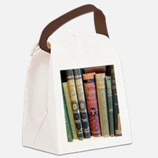 Cute Shelf Canvas Lunch Bag