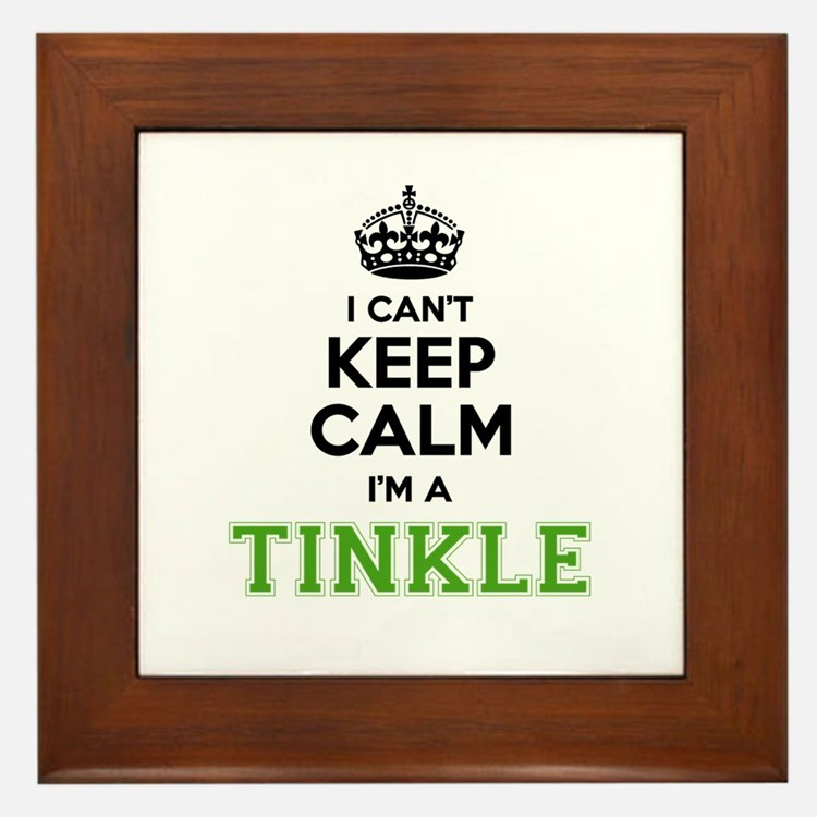 TINKLE I cant keeep calm Framed Tile