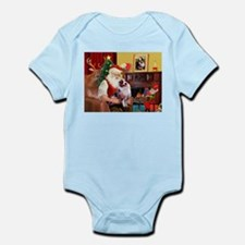 Santa's Aussie (#1) Infant Bodysuit
