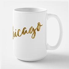 Golden Look Chicago Mugs